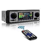Aigoss Autoradio Bluetooth, Car Stereo Main Libre 4x60W FM Radio Voiture Récepteur avec Lecteur MP3 avec Intégré EQ Compatible...