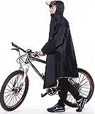 QIAN レインコート 自転車 メンズ レディース レインポンチョ 雨具 ポンチョ 通学通勤 軽量 完全防水 防汚 防風 男女兼用