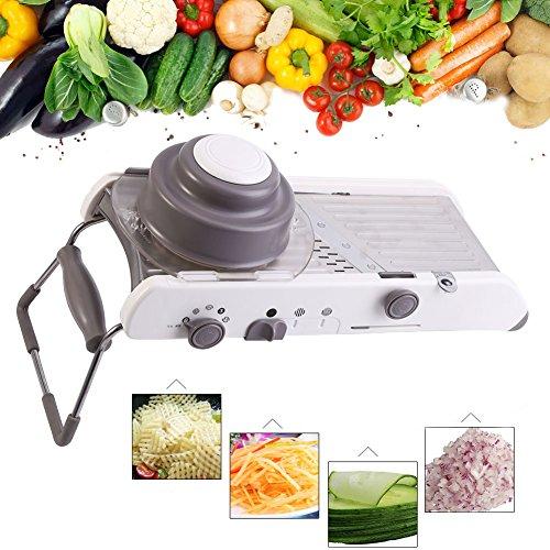 Yosoo Multi-Functional Vegetales Mandoline Slicer Fruit Peel