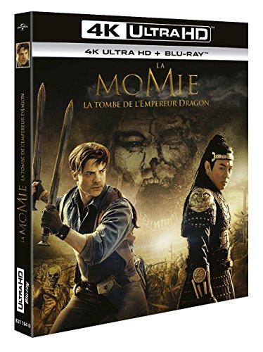 La Momie : la tombe de l'empereur dragon 4K [Blu-ray] [4K Ultra HD + Blu-ray]