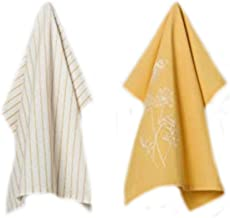 Hearth and Hand with Magnolia Kitchen Towel 2pk Golden Yellow Joanna Gaines Collection Limited Edition