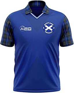 Airosportswear 2019-2020 Scotland Cricket Concept Football Soccer T-Shirt Jersey - Kids