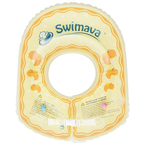 Swimmerba SW130BBDU Inflatable Sports Educational Equipment Body Ring for Babies 6 Months to 2 Years (Duck Yellow)
