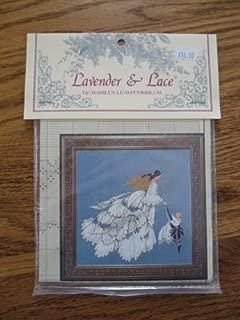 Lavender & Lace Angel of Mercy II Cross Stitch Pattern