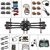 QWinOut Komplettes Set 6-Achsen Hexacopter Drone Kit: Tarot 680PRO Rahmen + 700KV Motor + GPS + APM 2.8 Flugsteuerung + LCD Sender
