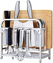Home Living Museum/Tool Holder Knife Holder Stainless Steel Cutting Board Dish Knife Lid Storage Rack Kitchen Rack Kitchen...