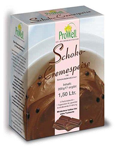 ProWell Diät- und Ernährungsprogramm - Schoko-Cremespeise - 200 g (5 Portionen)