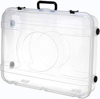 Boîte de Rangement vêtement saisonnier sous lit Transparent Boîte De Rangement De Vêtements Boîte De Rangement Bas Lit De ...