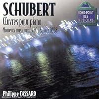 Schubert: Moments Musicaux / Pno Sonata Op 142 by Philippe Cassard (2002-06-17)