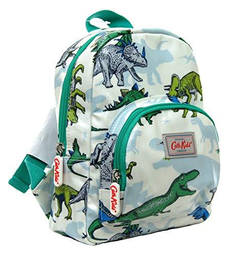 Cath Kidston Kinder-Rucksack mit Dinosaurier-Motiv, Wachstuch, Off-White