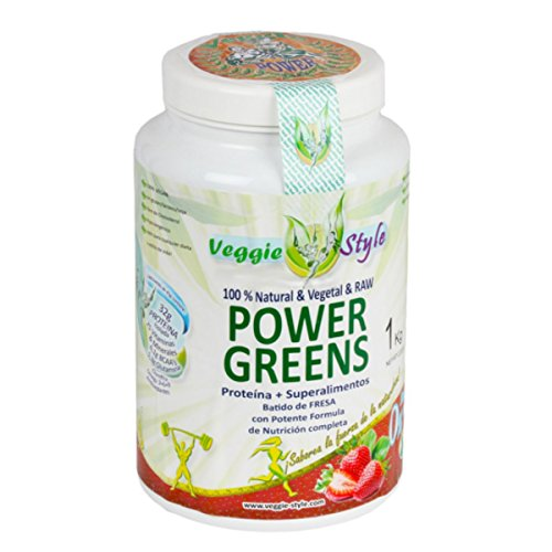 Veggie Style - Vegan Protein Power Greens Gusto Fragola