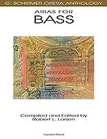 Arias for Bass: G. Schirmer Opera Anthology