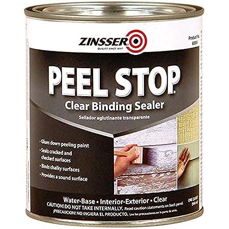1 qt Zinsser 60004 White Zinsser, Peel Stop Bonding Primer Pack of 1