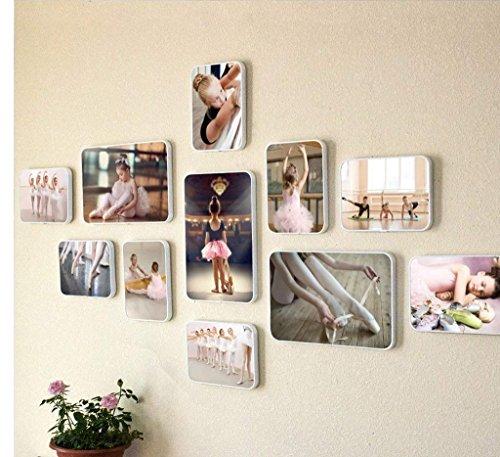 GPWDSN Bilderrahmen Wandkunst, Fotorahmen Wand, Tanz Foto Kombination Dekorative Wandbehang Ballett Modern Dance Tanztraining Kreative