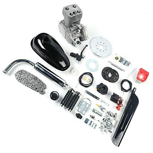 ROMYIX Kit de conversión de Bicicleta de Motor de Gasolina de 100 CC y 2 Tiempos, Kits de Motor de Motor de Gasolina motorizados de 36 Dientes, Conjunto Completo Mejorado