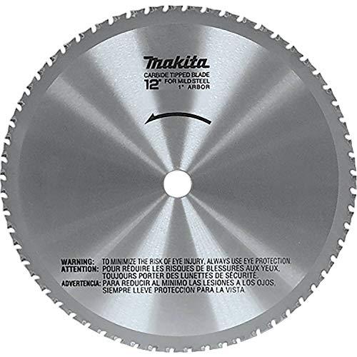 Makita A-90532 12-Inch 60-Teeth Dry Ferrous Metal Cutting Saw Blade with 1-Inch Arbor, Silver