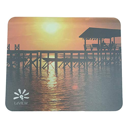 Thin Photo Insert Personalized Picture Frame Gaming Mouse Pad Mat for Desktop PC Sunset