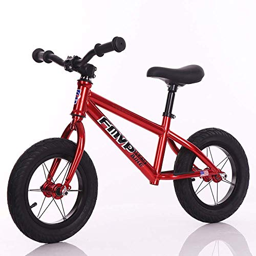 ERGDFH Kid Bike Girls Balance Bike,Two Rounds Sliding No-Pedal with Car Bell High Density Soft Seat Non-Toxic Material with The Baby from Small to Large Best Gift