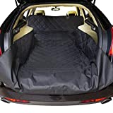 """1.UNIVERSAL:Nober Cargo Liner Size: 55"""" x 106"""", Fits All Standard Vehicles. 2. WATERPROOF & EASY TO CLEAN: Our product made of high-quality waterproof material which can better keep the area clean and easy to clean it. 3. COMFORTABLE & DJUSTABLE:Keep..."""