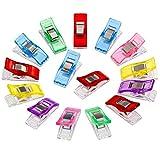 Meiso 50pcs Clip Pinze DIY Pinza 2.7 * 1.0 * 1,5 cm in ABS per Rilegatura Cucito Artigianato Più colori