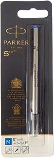 パーカー PARKER 5thテクノロジー採用ペン用 替え芯 リフィル ブルー M 中字 1950276 (S1162723) [並行輸入品]