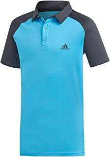 ADIDAS Adizero Polo Boys Top Tennis T Shirt Competition Kids Childrens
