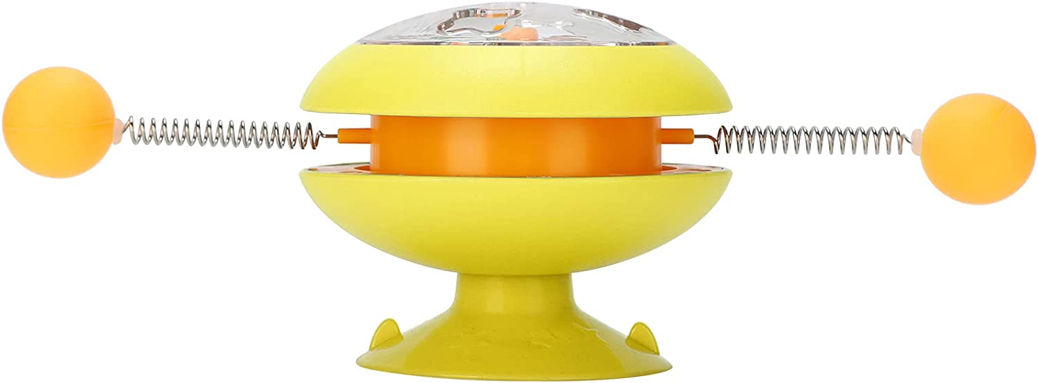 GLOGLOW Rotary Cat San Francisco Mall Toy with Spring Interactive Ranking TOP19 Windmill