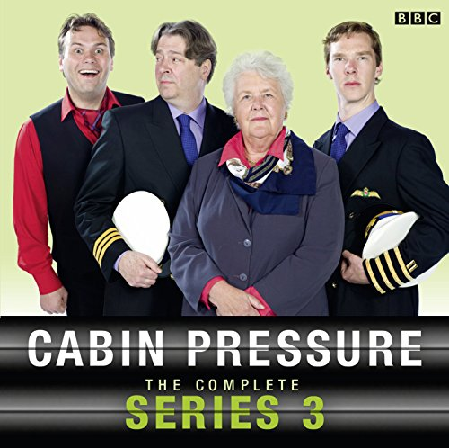 Cabin Pressure: The Complete Series 3                   By:                                                                                                                                 John Finnemore                               Narrated by:                                                                                                                                 Stephanie Cole,                                                                                        Benedict Cumberbatch,                                                                                        Roger Allam,                   and others                 Length: 2 hrs and 48 mins     1,128 ratings     Overall 4.9