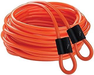 Champion Sports DD Series Double Dutch Licorice Jump Ropes - Orange, 30-Feet (Set)