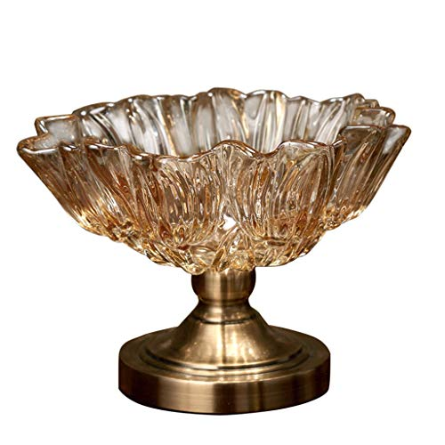 Ornament voor fruitdienblad, staand, hoog design, bloemenvorm, moderne stijl, creativiteit, eenvoudige meubels voor thuis, glasproducten, decoratie, fruitschaal, restaurant, hotel