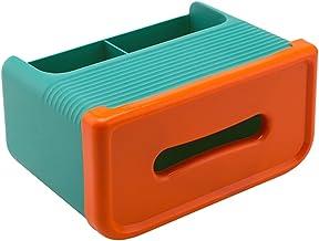 SMEJS Creatieve Desktop Tissue Box Cover Minimalistische Afstandsbediening Houder Briefpapier Opbergtas Cosmetica Organize...