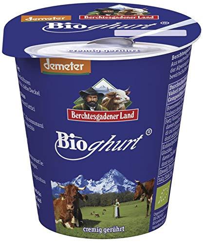 Berchtesgadener Land Bio Bioghurt Natur cremig gerührt 3,5% Fett (6 x 150 gr)