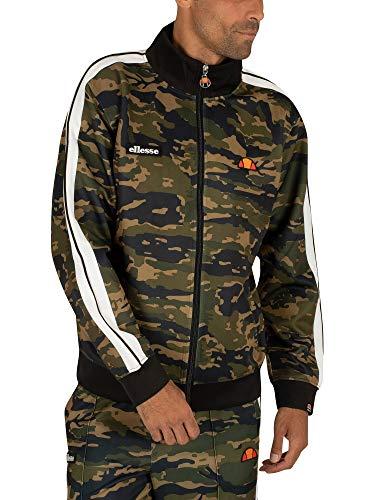 ellesse Zipper Herren NATISONE Track TOP Camouflage Camo, Größe:M