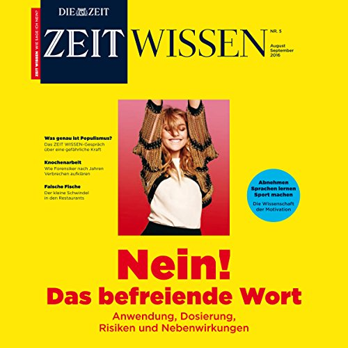 ZeitWissen, August / September 2016 cover art