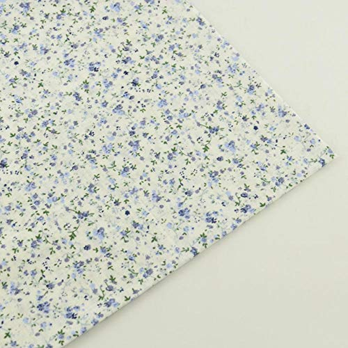 Hajskks 100% algodón beige tela impresa diseños florales muñecas de tela llano cuarto de grasa Atr trabajo patchwork hogar textil costura-100X150