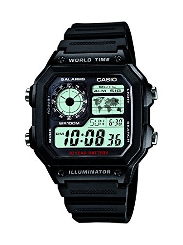 CASIO (カシオ) 腕時計 デジタル AE-1200WH-1A メンズ 海外モデル [並行輸入品]