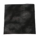 Blumentopfgitter Pflanzenschutzgitter Blumentopf Bodennetz aus Kunststoff - 15 x 15 cm # 5 Stück