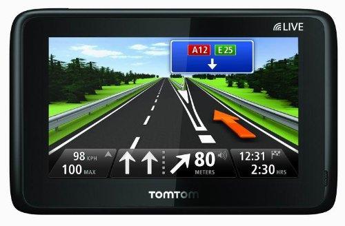 TomTom GO LIVE 1000 - Navegador GPS con mapas de Europa incluyendo Iberia ( 4.3  pulgadas)