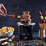 Princess Schokoladenbrunnen – für jede Schokolade und Karamell mit Schmelz- und Fließfunktion, 292994 - 2
