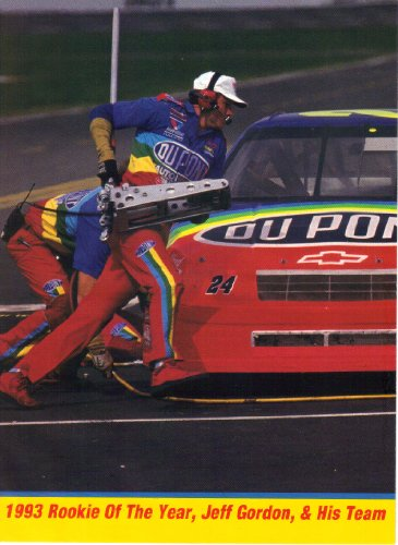 Jeff Gordon NASCAR Auto Racing 8x10 Photograph Collage