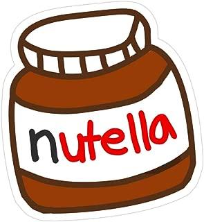 Vijk kor Cute Tumblr Nutella Pattern Stickers (3 Pcs/Pack)
