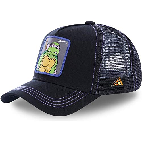 KNCDBCDMZ Baseballmütze Teenage Mutant Ninja Turtle Mesh Cap Baseball Kappe Hohe qualität Stickerei Patch Papa Hut Hysterese Kappe