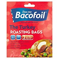 Improved flavours and retained moisture Easy Roast Bags keep in the juices and keeps your oven tray clean Measures 550mm length by 450mm width