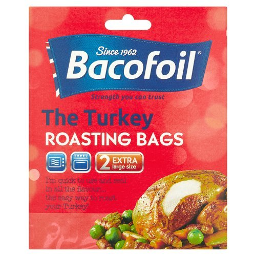 Bacofoil 2 EasyRoast Turkey Size Cooking Bags
