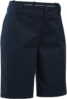 Under Armour Girls' UA Uniform Chino Shorts - Plus Size