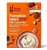 Good & Gather Pumpkin Spice Hot Cocoa Mix! Pumpkin Spice Flavored Hot Cocoa! Made With Premium Cocoa For A Rich And Satisfying Taste! Choose Your Flavor! (Pumpkin Spice)