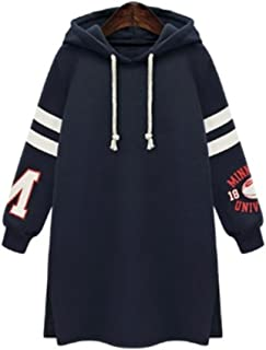 Misaky women top Women's Winter Hooded Sweatshirt Coat Tops Pullover Plus Size