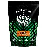 Verde Mate Green Naranja Tropico 500g | Yerba Mate Té con Frutas Cítricas | Yerba Mate de Brasil | Yerba Mate Refrescante y Estimulante | Sin Gluten | Secada sin Humo