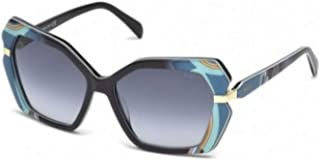 8a9ed776ea47 Sunglasses Emilio Pucci EP 0063 05B black/other / gradient smoke