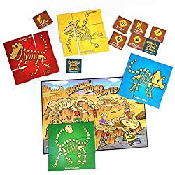 5. Continuum Games Digging Dino Bones Board Game
